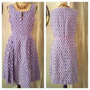 Tory Burch linen dress sz 12